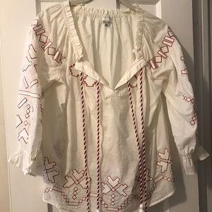 Anthropologie boho blouse